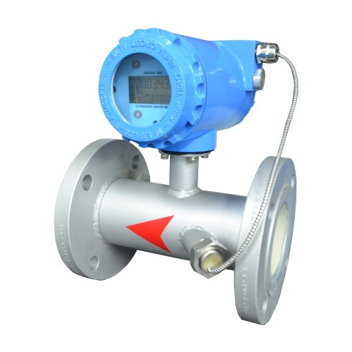Two Wire Inline Ultrasonic Flow Meter (Asionic-100)