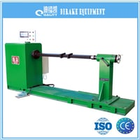 Horizontal Enameled Copper Wire Coiling Machine