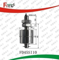 Stainless Steel Magnetic Float Level Switch
