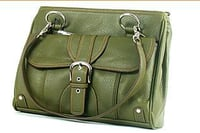 Green Leather Bags (LB-9095)