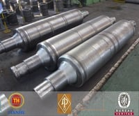 Corrugated Iron Forged Part Straightening Roll
