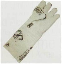 Heat Resistance Asbestos Hand Gloves With Lining