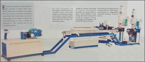Polymer Woodfree Plastic Pencil Manufacturing Machine