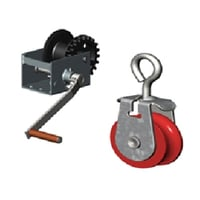Curtain Winching System