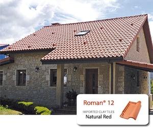 Concrete Clay Roofing Tiles