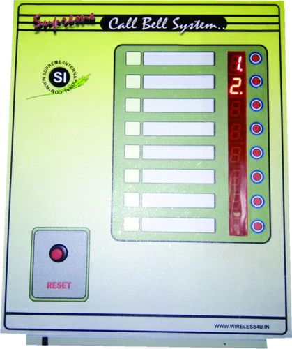 Peon Call Bell System 8 User
