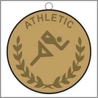 Medal Copper Bronze Plated