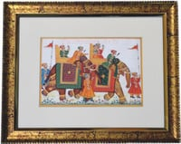 Silk Paintings Frame