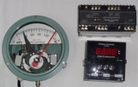 Oil And Winding Temperature Indicator For Power And Distribution Transformers