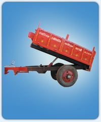 Tipping Tractor Trolley