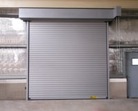 Galvanised Insulated And Non Insulated Rolling Shutter