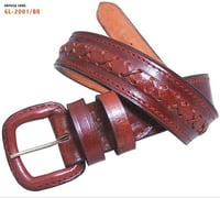 Braided Finish Leather Belts (Gl 2001/Br)