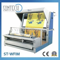 Woven Cloth Inspection And Rolling Machine