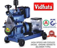 High Speed Air Cooled Diesel Engine Gensets (Blower Type)