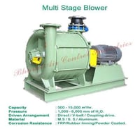 Multistage Centrifugal Blowers