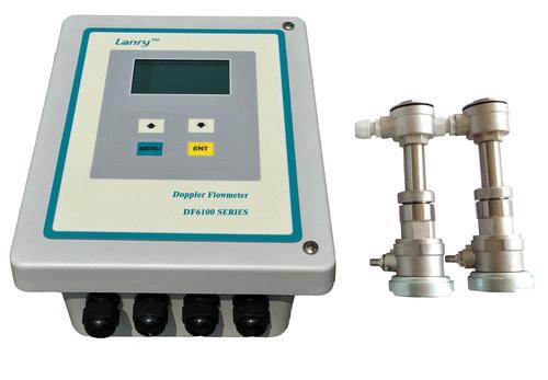 Doppler Insertion Ultrasonic Flow Meter