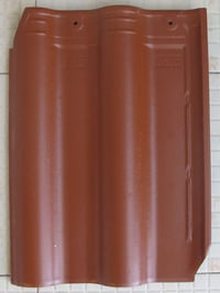 Iron Red Roofing Tiles For Ceramic Material