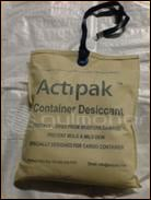 Actipak Packed Desiccants
