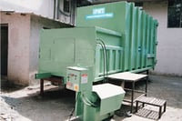 Stationary Compactor Container