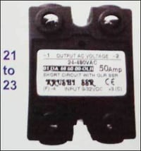 DC To AC Short Circuit with Overload Relay