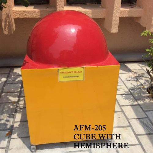 Cube With Hemisphere