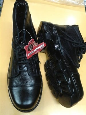 Leather DMS Boots