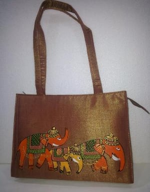 Hand Painting Purse