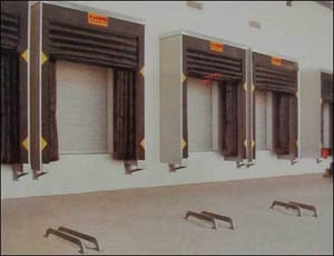 Industrial Inflatable Dock Shelters