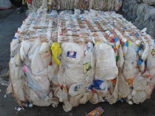 HDPE Milk Bottles Scraps