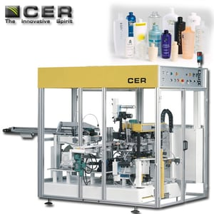 Hot Stamping Machine For Blow Molded Bottles