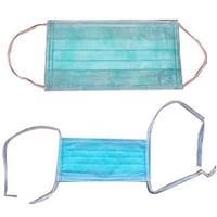 Face Mask With Tie Elastic