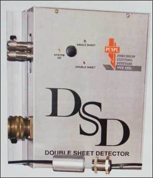 New Supersonic Double Sheet Detector