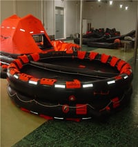 CCS And EC Approval Open Reverisble Inflatable Life Raft