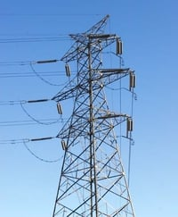 Self Supporting Power Distribution Tower