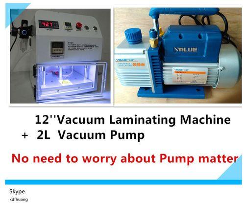 Vacuum Laminating Machine With 2L Vacuum Pump