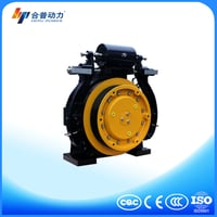 WTD1 630KG PM Motor Gearless Traction Machine