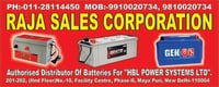 24 Volts Battery For Generators