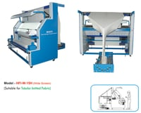 Tubular Fabric Slit Open And Inspection Cum Winding Machines