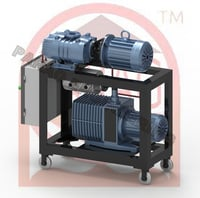 PARAG 6 HP Two Stage Vacuum Booster System VBS 30