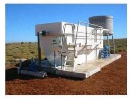 Waste and Waste Water Treatment Plant