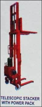 Telescopic Stacker With Power Pack