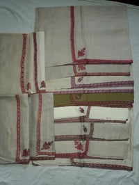 Attractive Pashmina Hand Embroidery Stoles