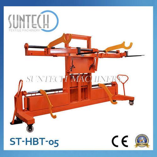 Hydraulic Warp Beam Lift Trolley with Upper and Bottom Warp Beam