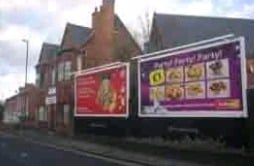 Outdoor Tv Advertising Services