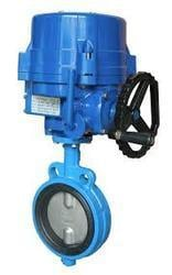 Motorized Electrical Actuator Operated Valve