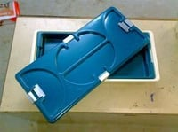 Autoclavable Plastic Sterilization Trays