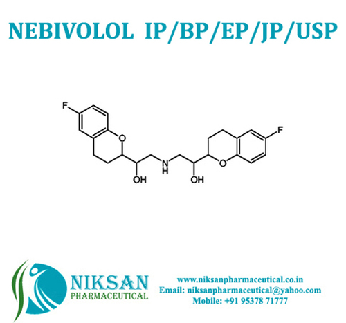 Nebivolol Ip/Bp/Usp/Ep