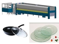 Glass Microwave Oven Plate Tempering Furnace