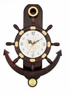 Anchor Wheel - Wall Clock With Three Sizes