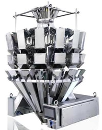 High Precision 100 Max Speed Automatic Combination Multihead Computer Weigher For Stick Shaped Products
